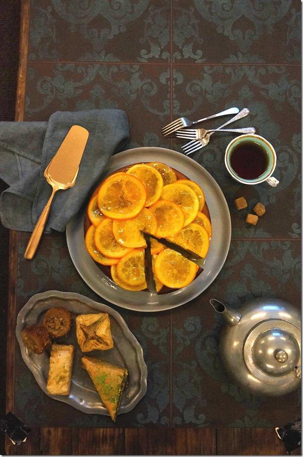Rustic elegance ~ Tea and dessert anyone?