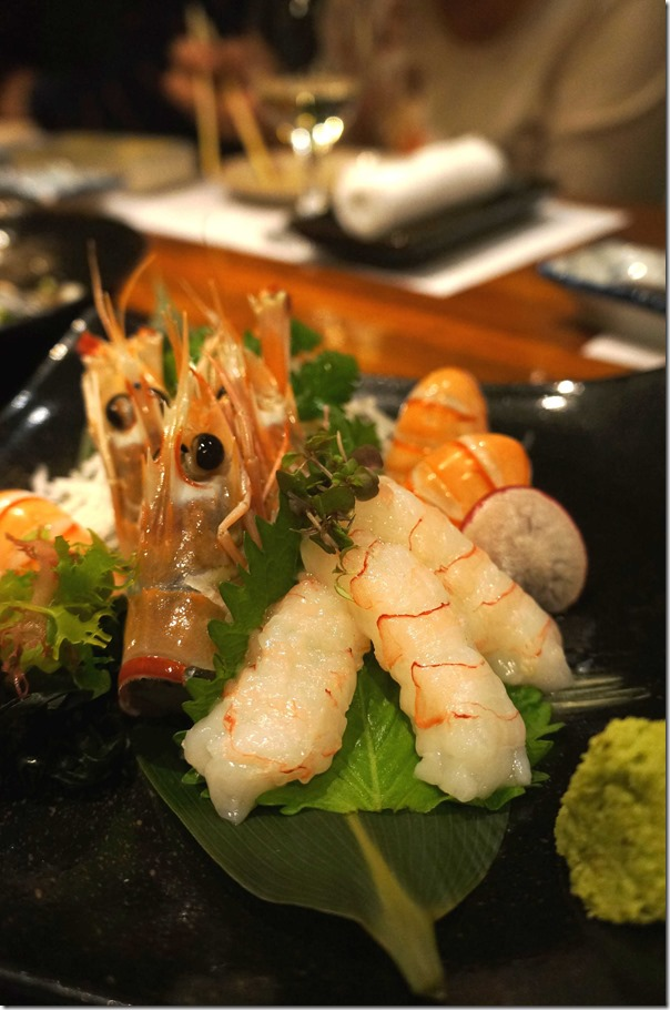 Scampi sashimi $20.90