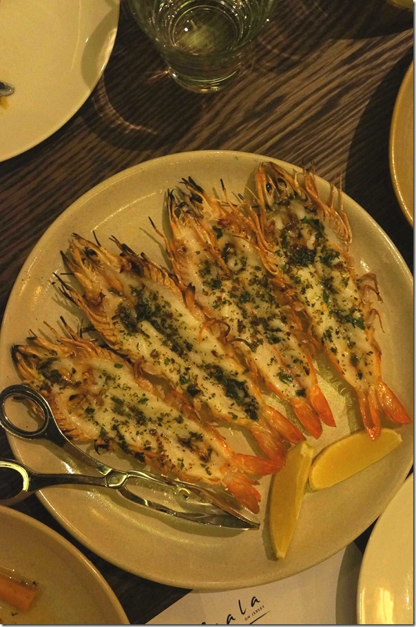 Butterflied king prawns, oregano, chilli and lemon (3pcs) $20