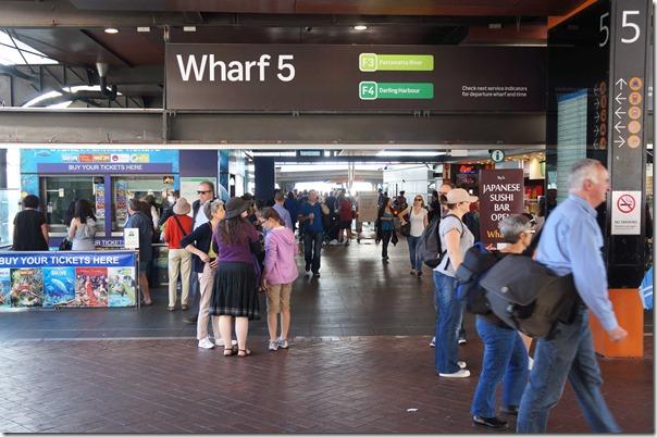 Wharf 5 at Circular Quay, Sydney