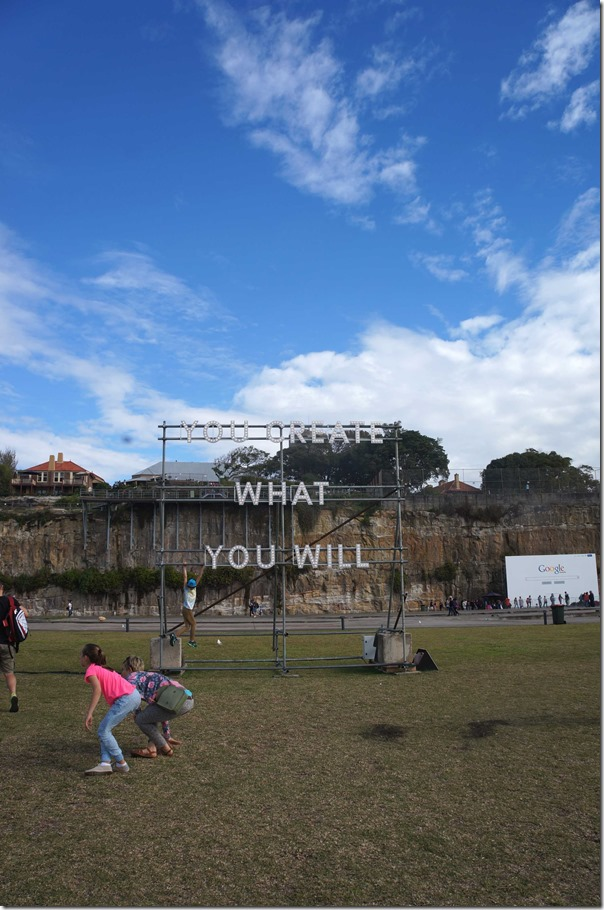 """You create what you will"" - the theme for the 19th Biennale of Sydney"