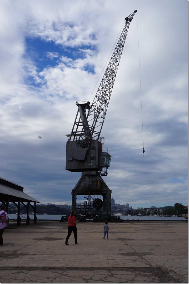 Old shipbuilding crane, Cockatoo Island, Sydney