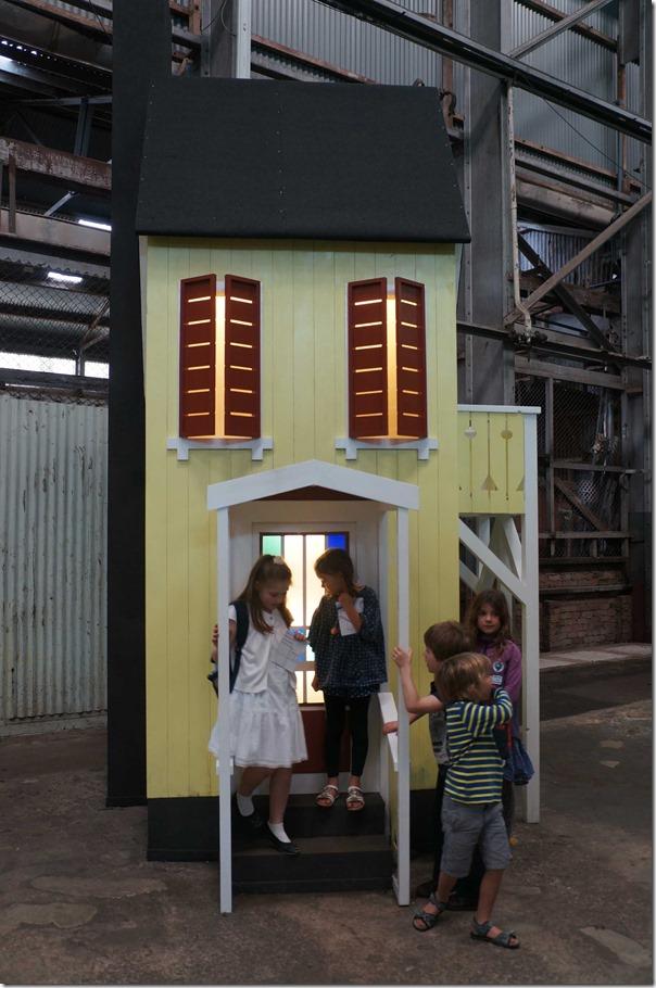 Art installation: The Village 2014 by Randi Jorgensen & Katrine Malinovsky