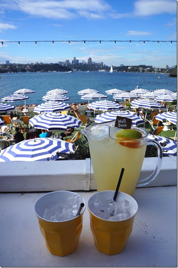 Cocktail Sunday on Cockatoo Island, Sydney: Jug of Able Seaman Cocktail $45