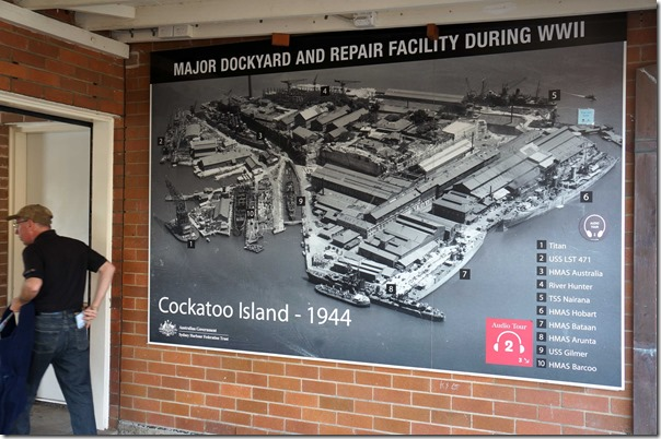 The maritime history of Cockatoo Island