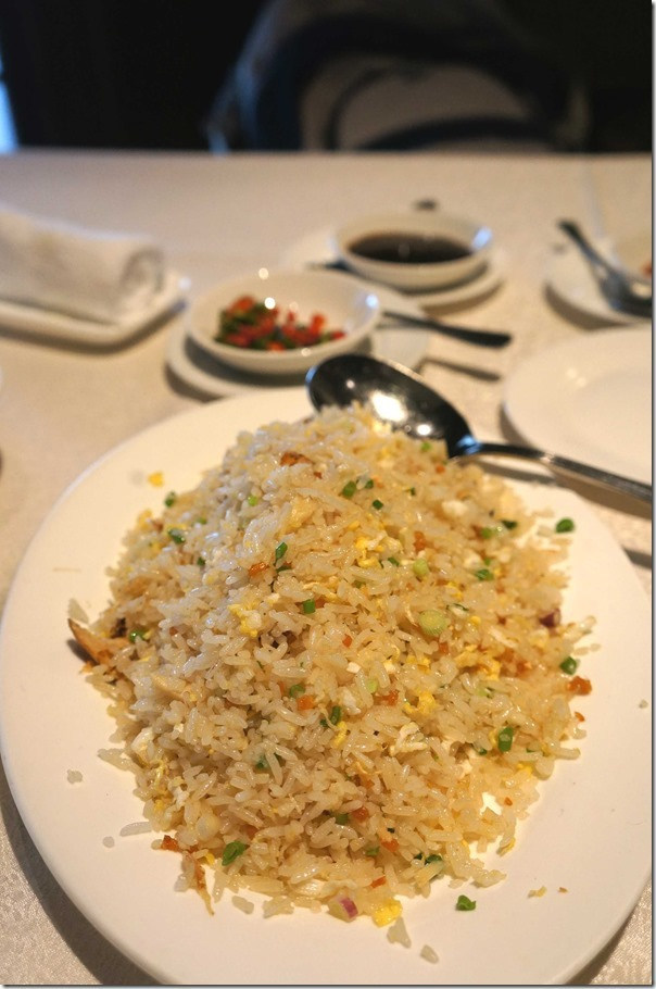 Elegant Inn Special Fried Rice RM25 or A$8.60