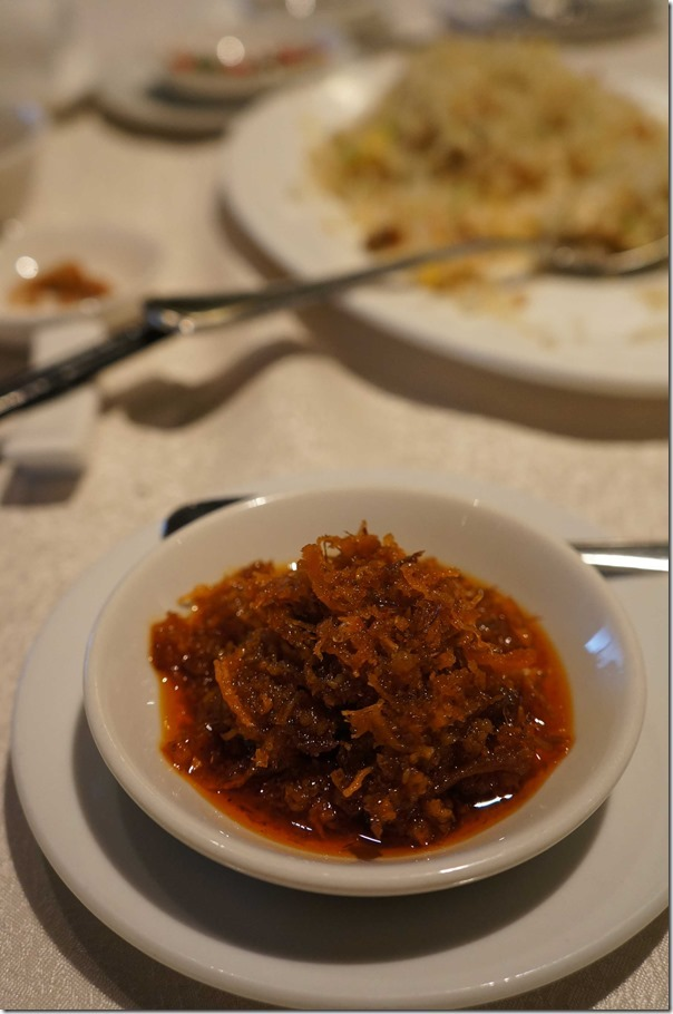 Chef's special XO sauce RM8 or A$2.75