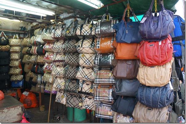 Ladies handbags, Petaling street, Kuala Lumpur