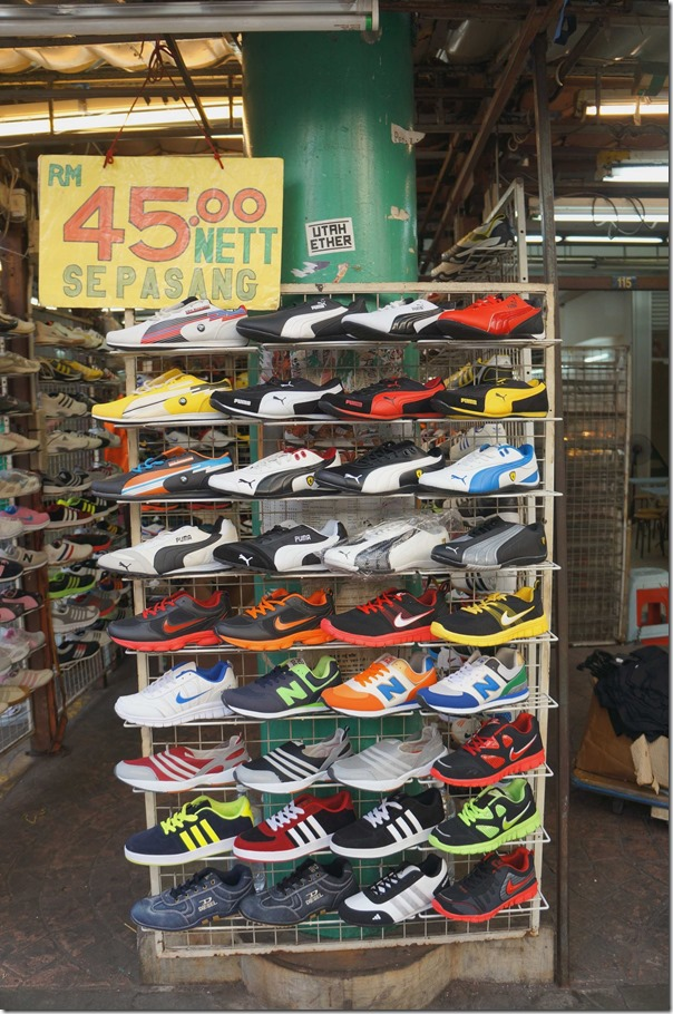 Sport shoes RM45 / A$15.50 per pair