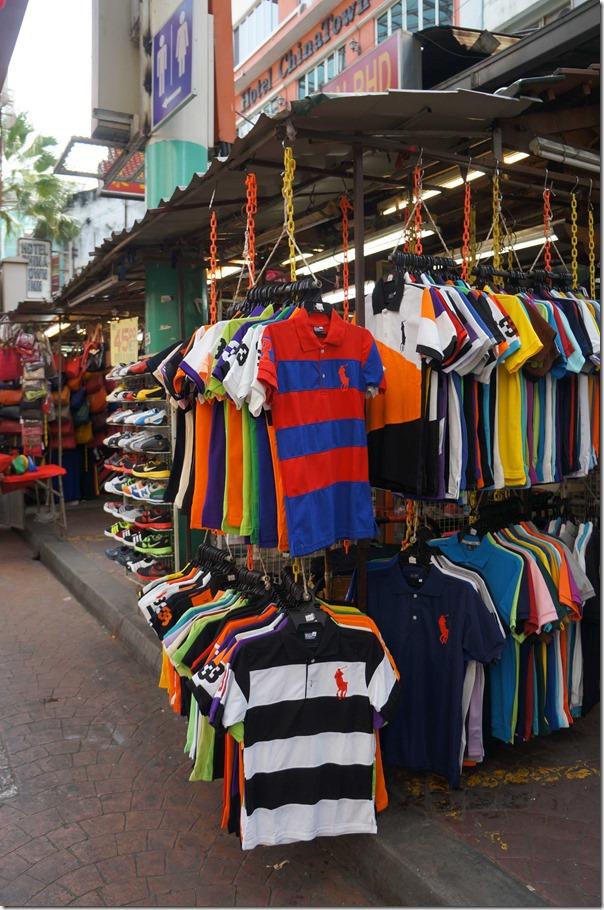 T-shirts galore, Petaling street, Kuala Lumpur