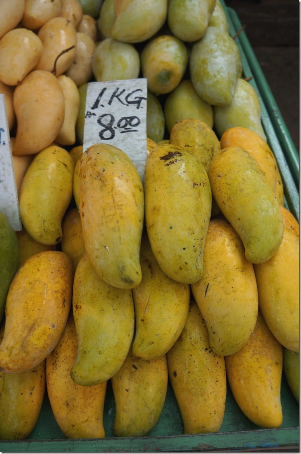 Mangoes RM8 or A$2.75 per kilogram