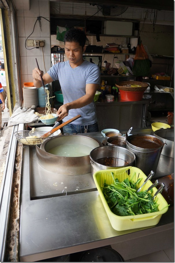 New face in the kitchen of Restoran Soong Kee, Kuala Lumpur