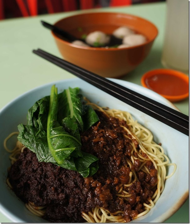 Beef ball noodles, large RM7 / A$2.40