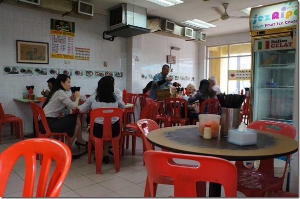Dining room, Restoran Soong Kee