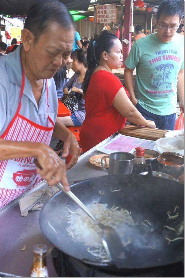 Fry it up! Char kway teow at Jalan Imbi Market, Kuala Lumpur