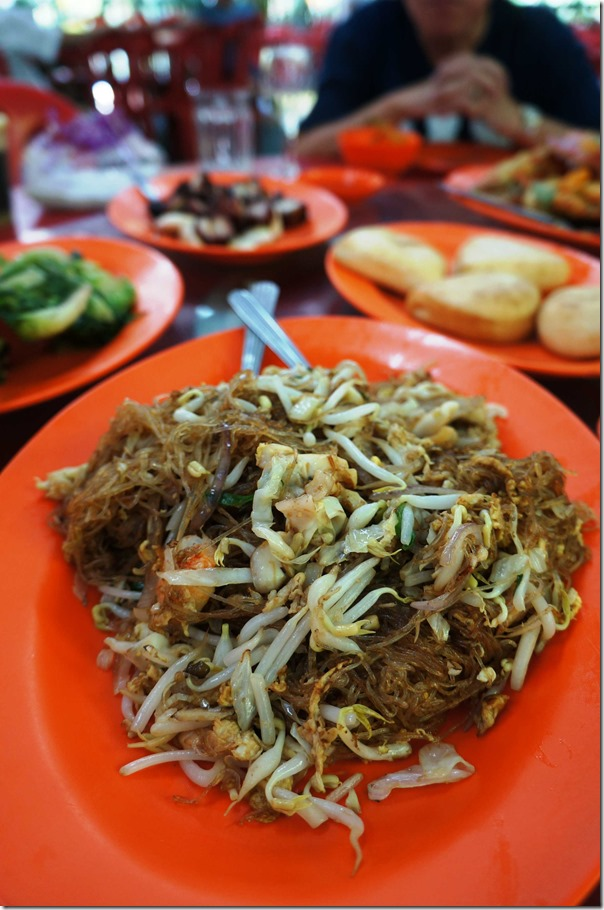 Stir fried rice vermicelli