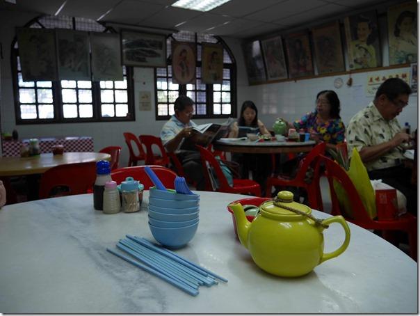 Dining room, Restoran Setapak Teochew, Kuala Lumpur