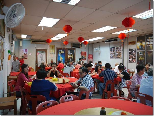Dining room, Kam Kee Seafood Restaurant