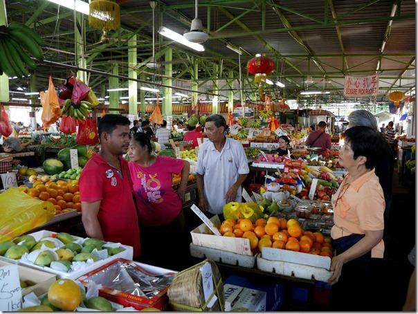 Fruit stalls at Jalan Imbi Market