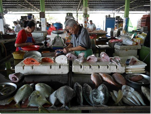 Fresh fish stall, Jalan Imbi Market