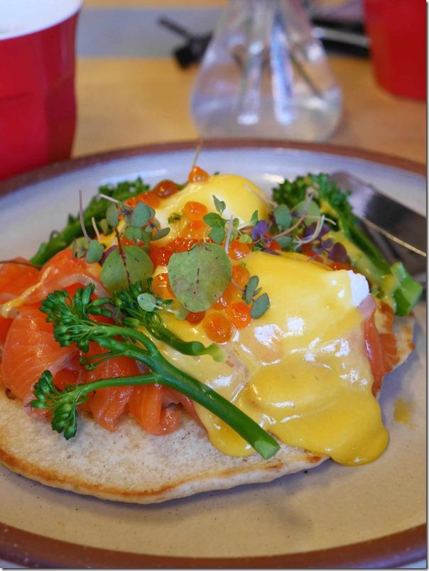 Eggs Blini $19