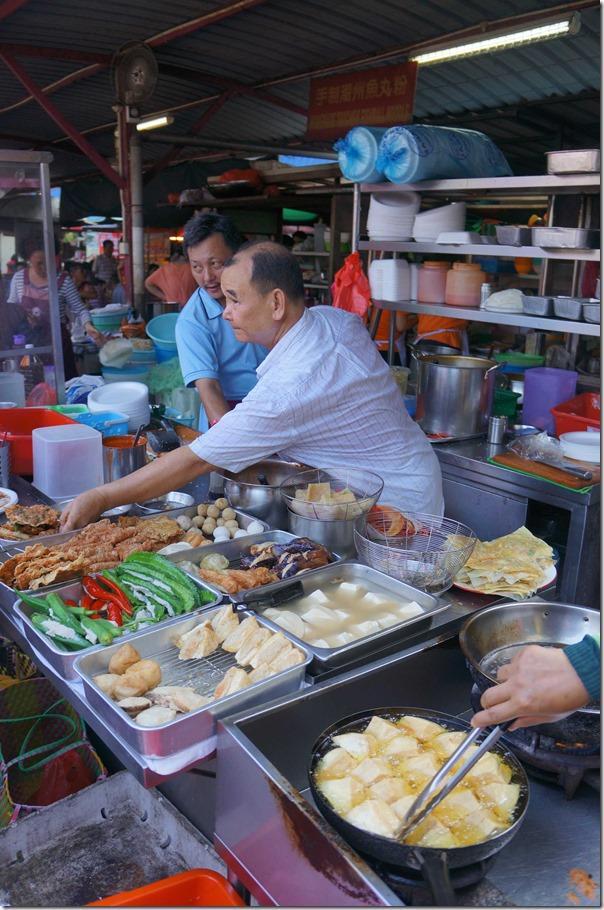 Ah Fook Yong Tau Foo at Jalan Imbi Market