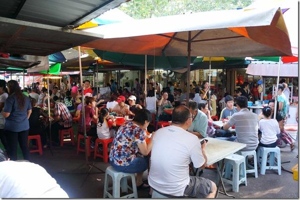 Breakfast at Jalan Imbi Market, Kuala Lumpur