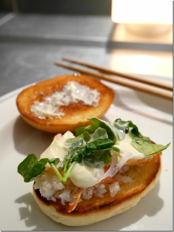New England lobster roll ~ With brioche bun, Japanese mayo, watercress and chilled lobster meat