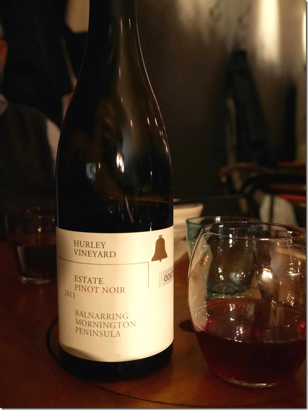 "2011 Hurley Vineyard ""Estate"" Pinot Noir $69"