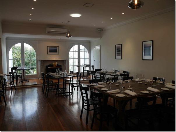 Dining room at Dromana Estate, 555 Old Moorooduc road, Tuerong, Mornington Peninsula