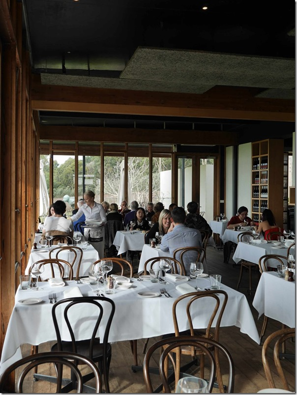 Dining room at Montalto Vineyard & Olive Grove, Red Hill South, Mornington Peninsula, Victoria