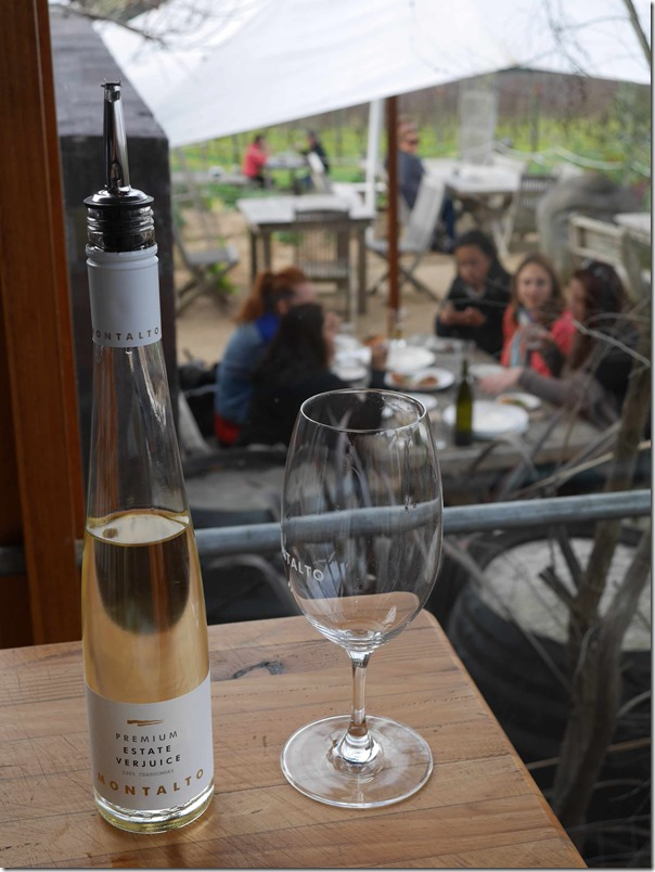 Montalto Premium Estate Verjuice and ladies lunching