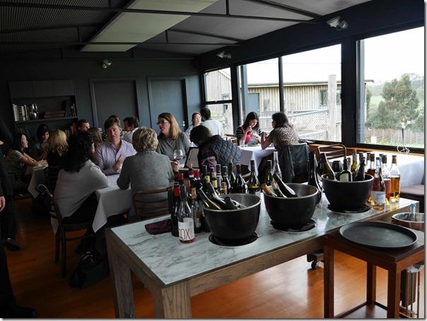 Dining room at Ten Minutes By Tractor 1333 Mornington Flinders road Main Ridge, Mornington Peninsula, Victoria