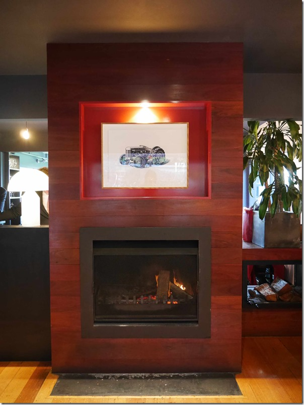 Fireplace at Ten Minutes By Tractor 1333 Mornington Flinders road Main Ridge, Mornington Peninsula, Victoria