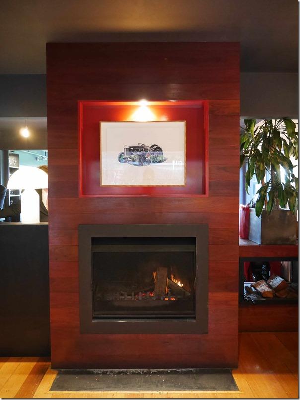 Fireplace at Ten Minutes By Tractor 1333 Mornington Flinders road Main Ridge, Mornington Peninsula, Victoria