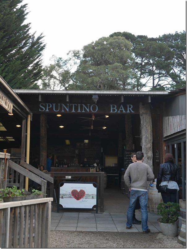 Spuntino Bar at T'Gallant, Main Ridge, Mornington Peninsula, Victoria