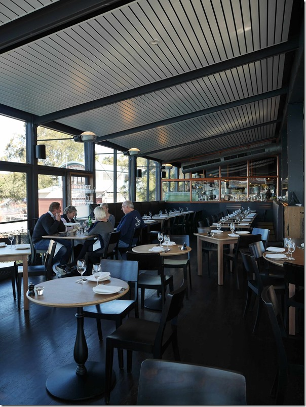 Dining room, The Boathouse on Blackwattle Bay, Glebe
