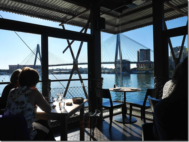A room with a view of Blackwattle Bay & ANZAC bridge, Glebe