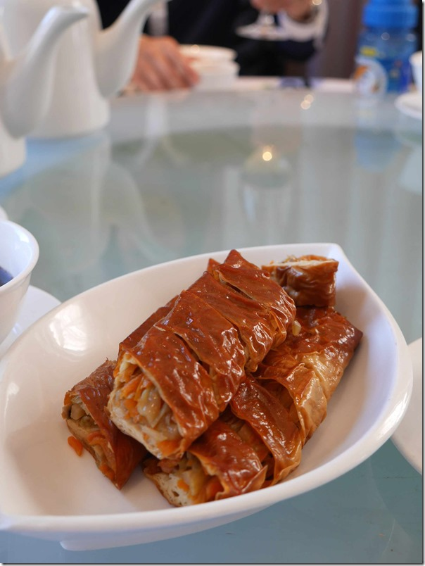bean curd rolls at nice day chinese restaurant steamed bean curd rolls ...