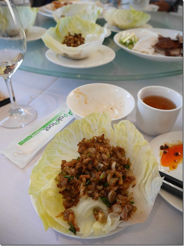 Sang Choy Bao (second course for Peking duck)