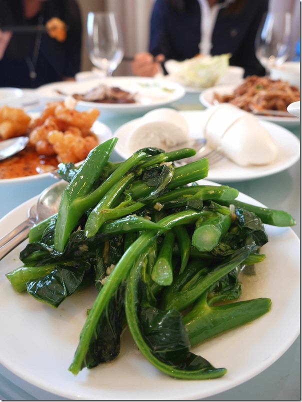 Stir-fried Chinese broccoli in ginger sauce $19.80