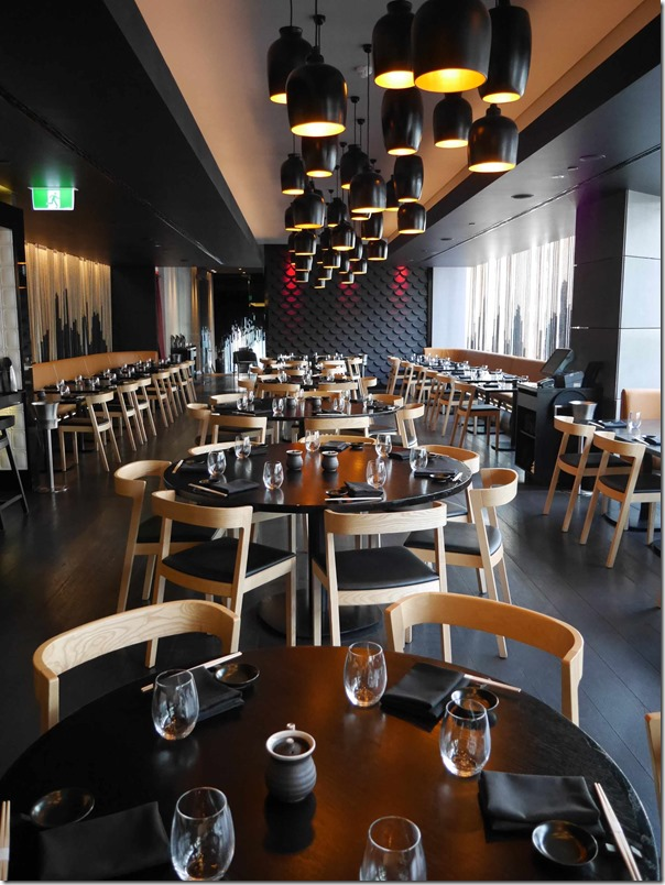 Dining room, Sokyo, The Star, Sydney