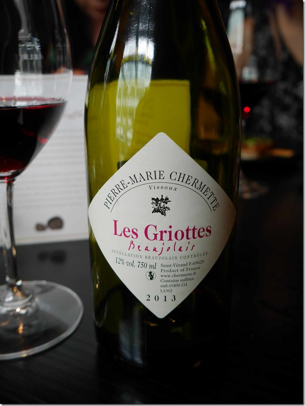 2013 Les Griottes Beaujolais $70