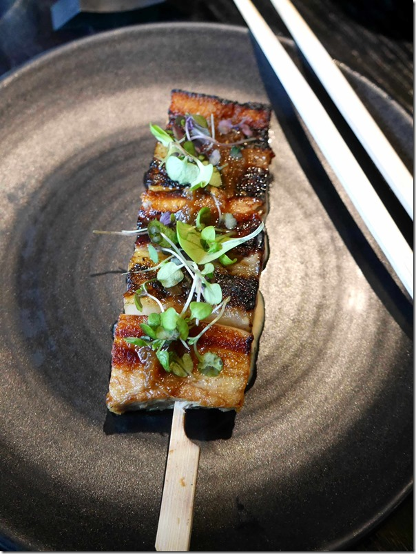Kurobuta pork belly $14