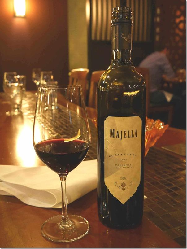 2011 Majella Cabernet Sauvignon $58