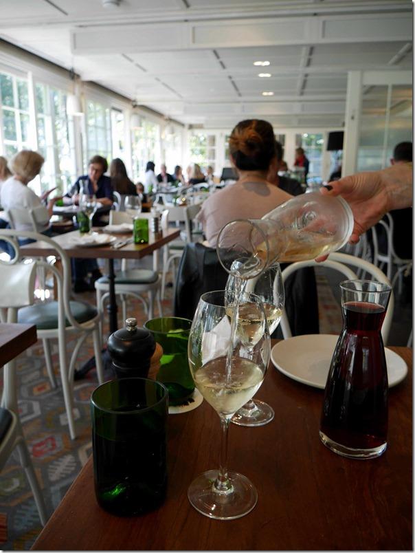 2013 Stefano Lubiana 'Primavera' Chardonnay, Granton Tasmania Carafe 500ml $46 & 2013 Chatto Pinot Noir, Huon Valley, Tasmania Carafe 500ml $67
