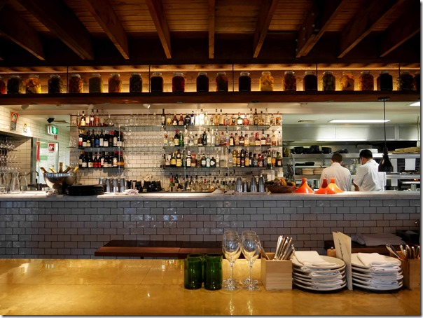 Bar dining and kitchen, Chiswick, Woollahra