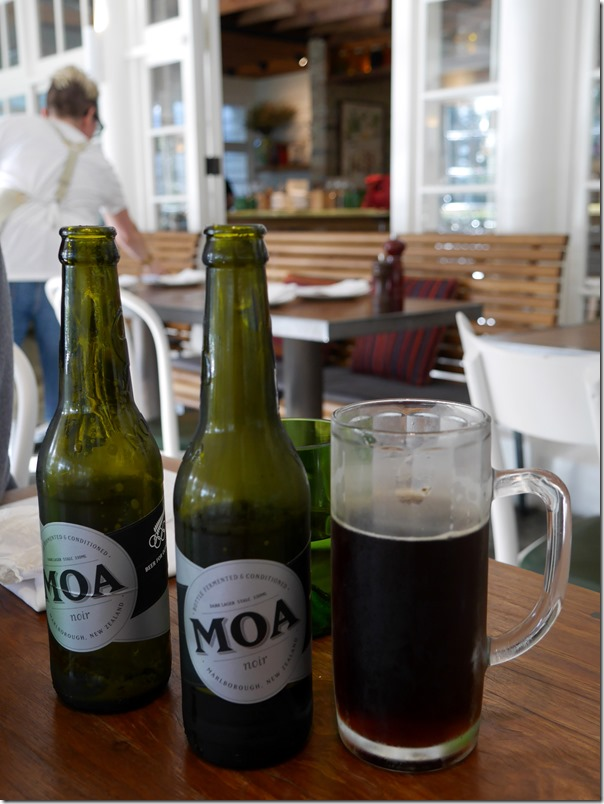 Moa Noir Dark Lager, New Zealand $11