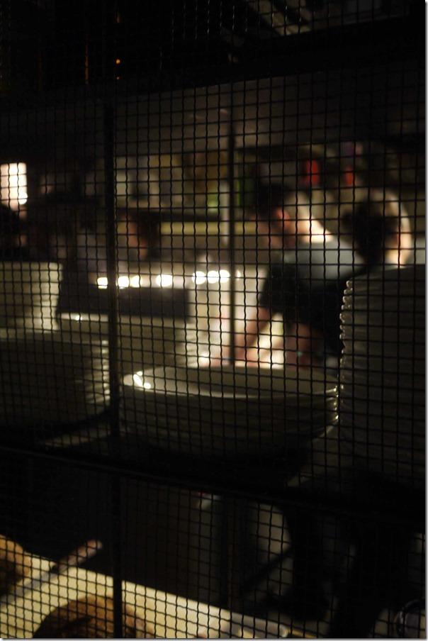 A peek into the kitchen at Berta, Sydney