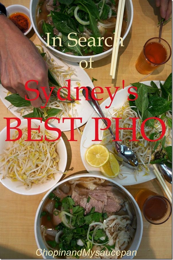 In Search of Sydney's Best Pho